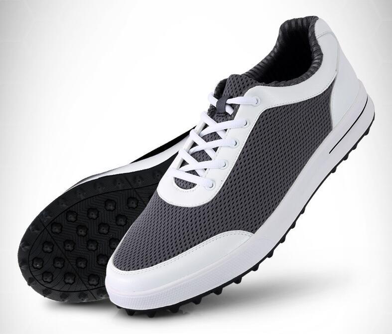 2018 Hot PGM Men golf shoes mesh Breathable ultra light non slip golf  Sneakers men leather sneakers men sports shoes-in Golf Shoe from Sports ... 5baee5debf6