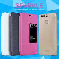 Nillkin Sparkle Series Luxury PU Leather Flip Case For Huawei P9 Plus VIE L09 Dual Sim