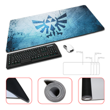 Babaite New Arrival Locking Edge Rubber Mice Mat The Legend of Zelda Eagles Logo Sword Customized Mouse Pad