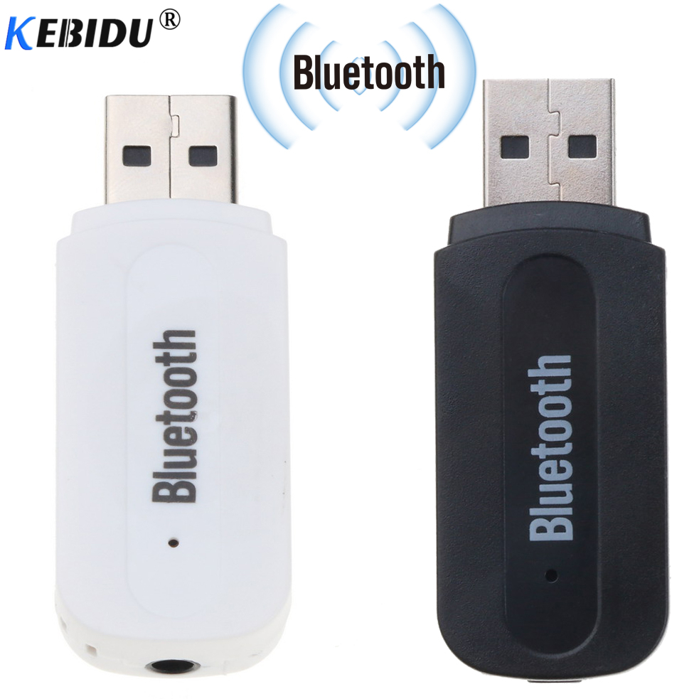 Kebidu Bluetooth Empfänger Aux 3,5mm Usb Wireless Adapter Dongle Audio Hause Lautsprecher Rezeptor Bluetooth Sender Stecker
