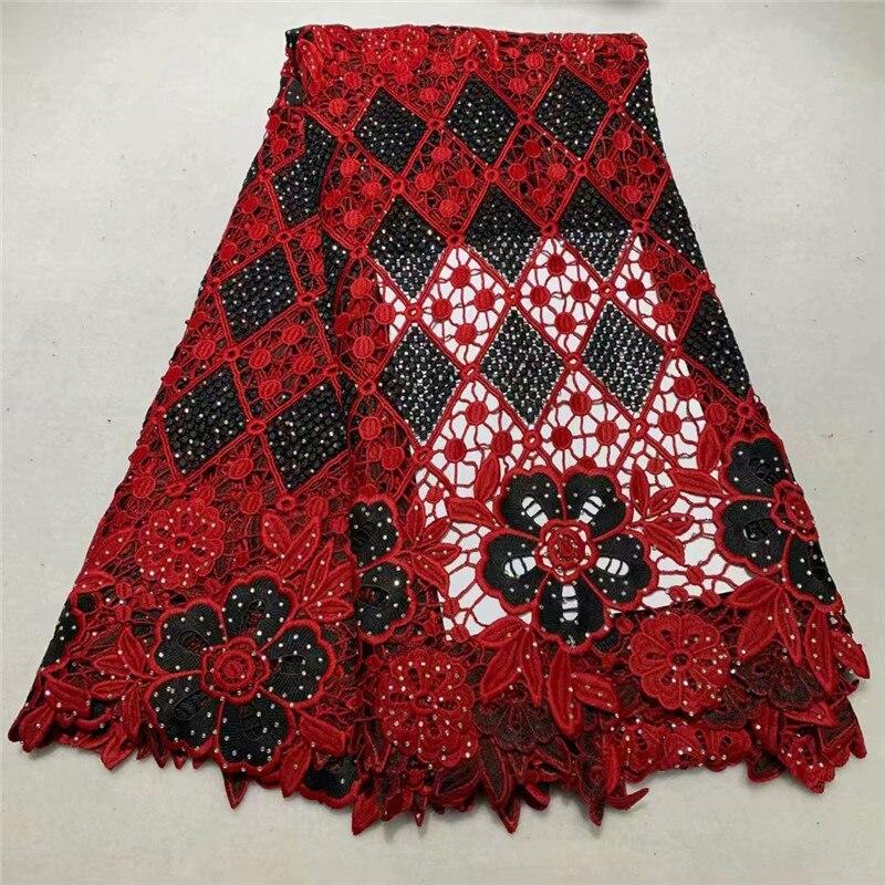 2019 Новый дизайн африканская сухая кружевная ткань высокого качества для мужчин французская кружевная ткань с камнем швейцарская вуаль кру