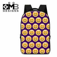 2016 Funny School Backpacks with Laptop Sleeve for Youth Expression Back Pack for Teenagers Girly Cute Bookbags College Book Bag