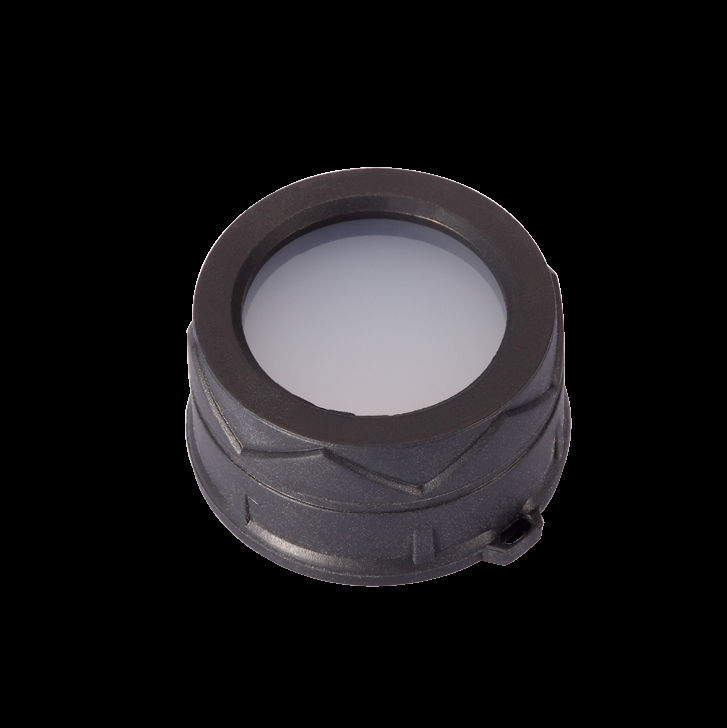 Free Shipping 1pc Nitecore Filter (RGB, Diffused. 34mm) NFR34/NFG34/NFB34/NFD34 Suitable For The Flashlight With Head Of 34mm