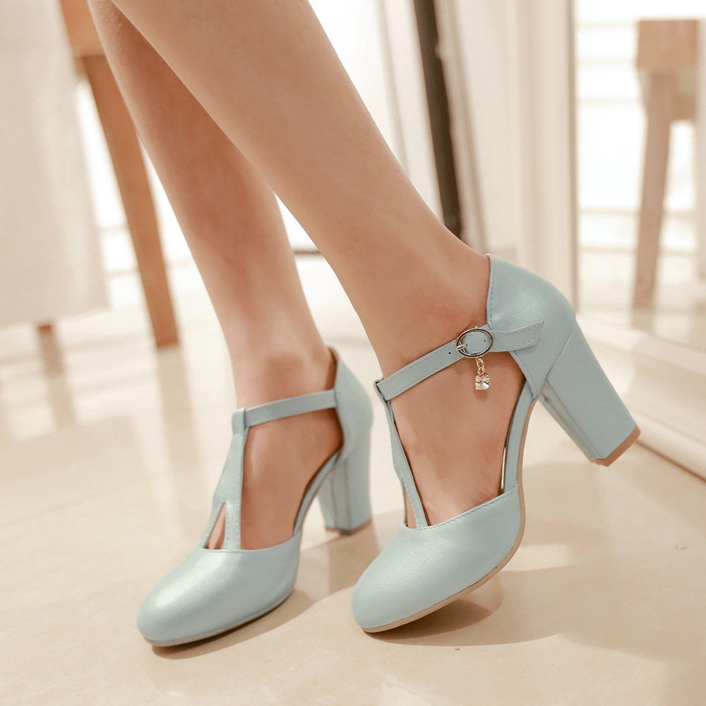 Cheap Chunky Heel Shoes