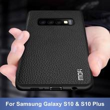 Für S10 Plus Fall für Samsung S10 Sase Abdeckung für Samsung Galaxy S10 + Fall MOFi für Galaxy S10 Fällen stoßfest Business Capas