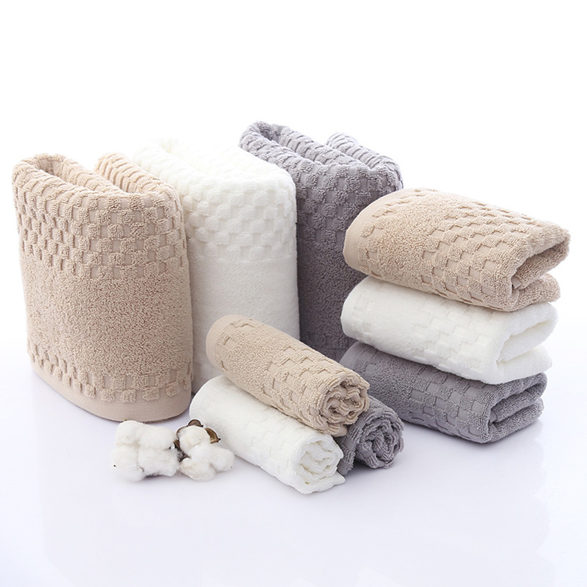 Set of 4-500gsm 100/% Cotton Quality New Mazic Bath Towels 70 x 140 cm
