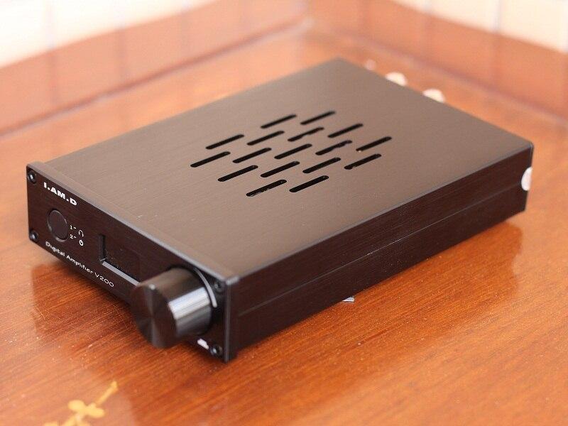 2019 I.AM.D V200BT Bluetooth@5.0 CSR8675 Support APTX HD Full Digital Audio Power Amplifier 150W*2 USB XMOS U208 24Bit/192KHz