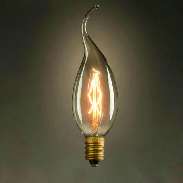 LightInBox C35 40 W AC 220 V E14 Globo Retro Edison Lâmpada Incandescente Luz Do Vintage Pendente Lâmpada Decoração Estilo atacado