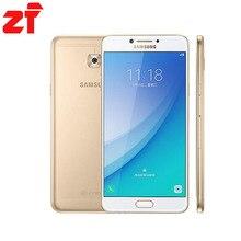 """Baru Kedatangan Asli Samsung Galaxy Pro C7010 C7 4G RAM 64G ROM Octa Core Dual Sim 5.7 """"3300 mAh 16MP 4G LTE Smart Phone"""