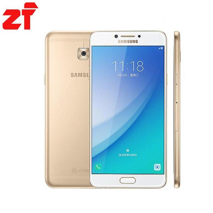 "Samsung Galaxy C7 Pro C7010 4G RAM 64G ROM Octa Core Dual Sim 5.7"" 3300mAh 16MP 4G LTE Smart Phone"