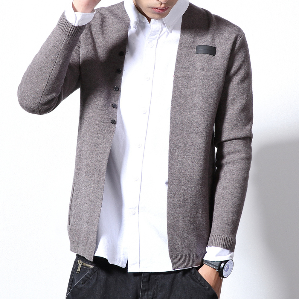mode de luxe le plus en vogue Bons prix US $23.64 31% OFF Plus Size Japan Style Men Cardigan New Solid Color Simple  Sweater Male Long Sleeve Casual Knitted Pull Homme V Neck Sweaters 6XL-in  ...
