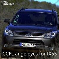 HochiTech Excellent CCFL Angel Eyes Kit Ultra Bright Headlight Illumination For Hyundai Veracruz Ix55 2007 To