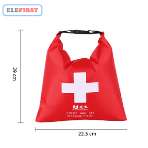 Image 2 - 1.2L Waterproof First Aid Kit Bag Portable Emergency Kits Case Only For Outdoor Camp Travel Emergency Medical Treatment