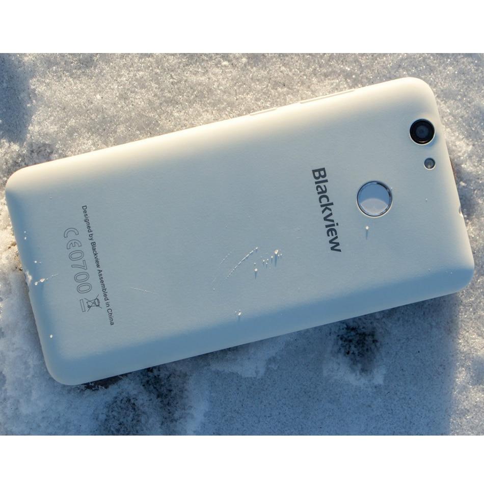 "Free Case+Earphone Blackview E7S 3G Mobile Phone 5.5""HD Android 6.0/7.0 MT6580A Quad Core 2GB+16GB Fingerprint ID Smartphone"
