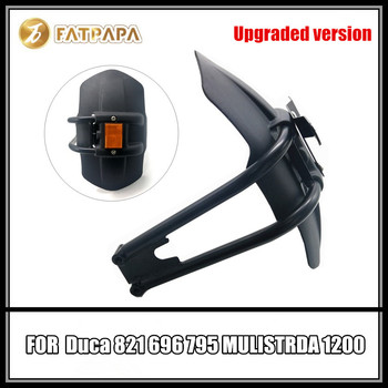 Upgraded version - Motorcycle License plate frame Night light Rear Fender FOR Ducati 821 696 795 MULISTRDA 1200