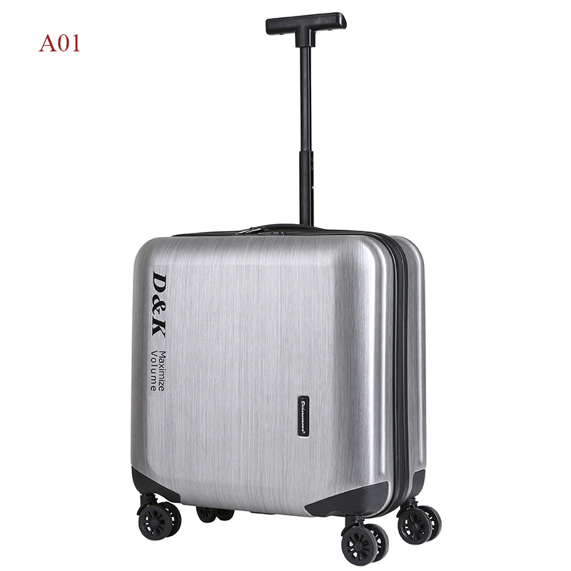 18 inches Computer Trolley Case Business Rolling Hardside Luggage Password Boarding Case Casters Travel Suitcase With Wheels