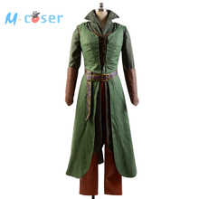 High Quality The Hobbit 2 / 3 Elf Tauriel Outfit Halloween Cosplay Costume For Adult Women