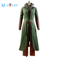 High Quality The Hobbit 2 / 3 Elf Tauriel Outfit Halloween Cosplay Costume For Adult Women full set
