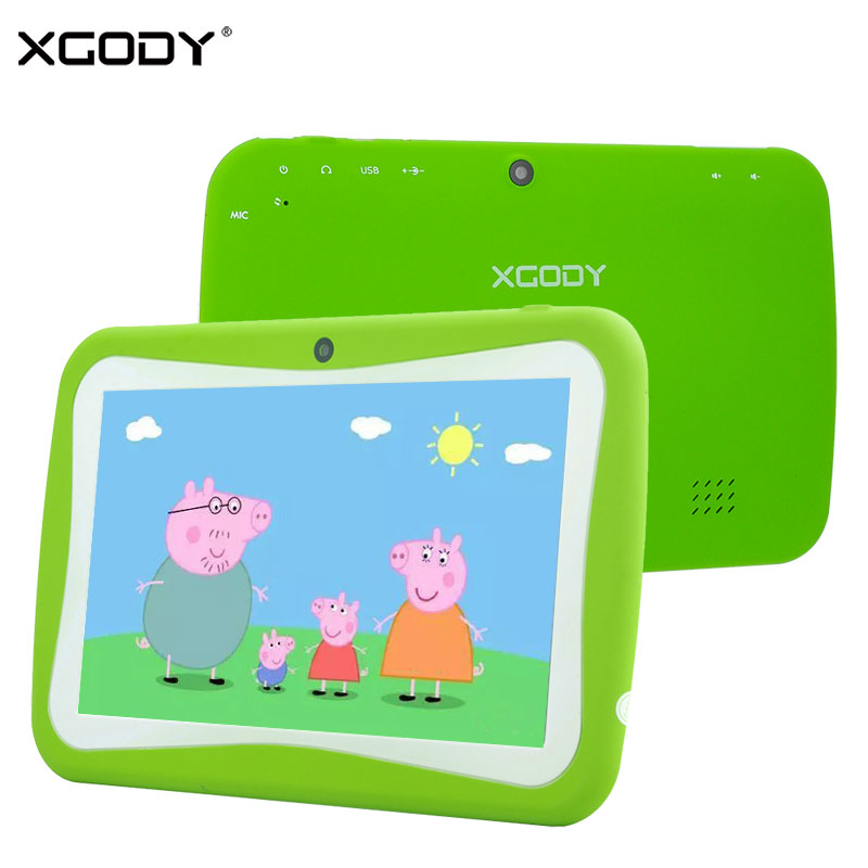 In Stock XGODY T701 7 Inch Kids Tablet PC Android 5.1 Quad Core 8GB Parent Mode 3.0MP Education Tablets for Children Pad WiFi odell education developing core literacy proficiencies grade 12