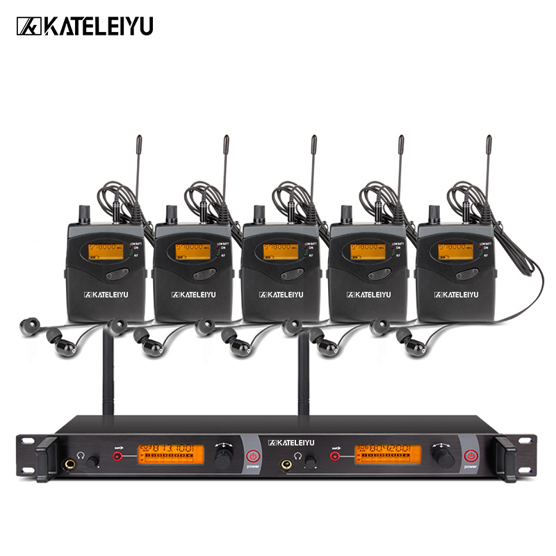 EM2050 Wireless in ear Monitor System 5 ear monitoring systems wireless stage monitor system EM2050 IEM bodypack monitor ovw2 12 2mhc 1200p r 38 mm solid shaft rotary encoder diameter 6 mm diameter of axle new in box free shipping