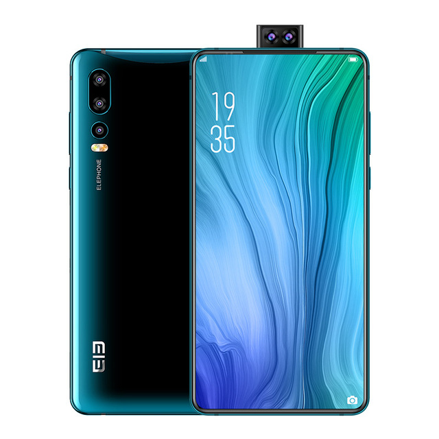 "2019 new Elephone U2 16MP Pop Up Camera 6.26"" FHD+ Screen Android 9.0 MT6771T Octa Core 4/6GB 64/128GB Face ID 4G Mobile phone"