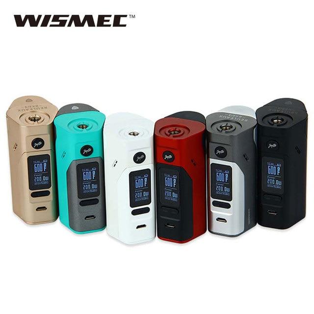 Оригинальный Wismec Рел RX2/3 Модель TC 150 Вт 200 Вт поле Mod программнообновляемое Рел RX2-3 RX23 электронной сигареты Mod VS RX200S RX300 Mod