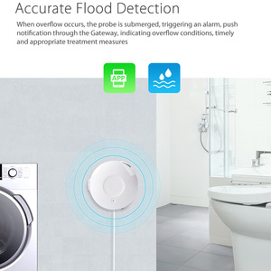 Image 2 - Ome ผู้ช่วยสมาร์ท Water Sensor WiFi สมาร์ทหน้าแรกน้ำน้ำท่วม WiFi รั่วเครื่องตรวจจับ Sensor PK สำหรับ xiaomi smart บ้าน