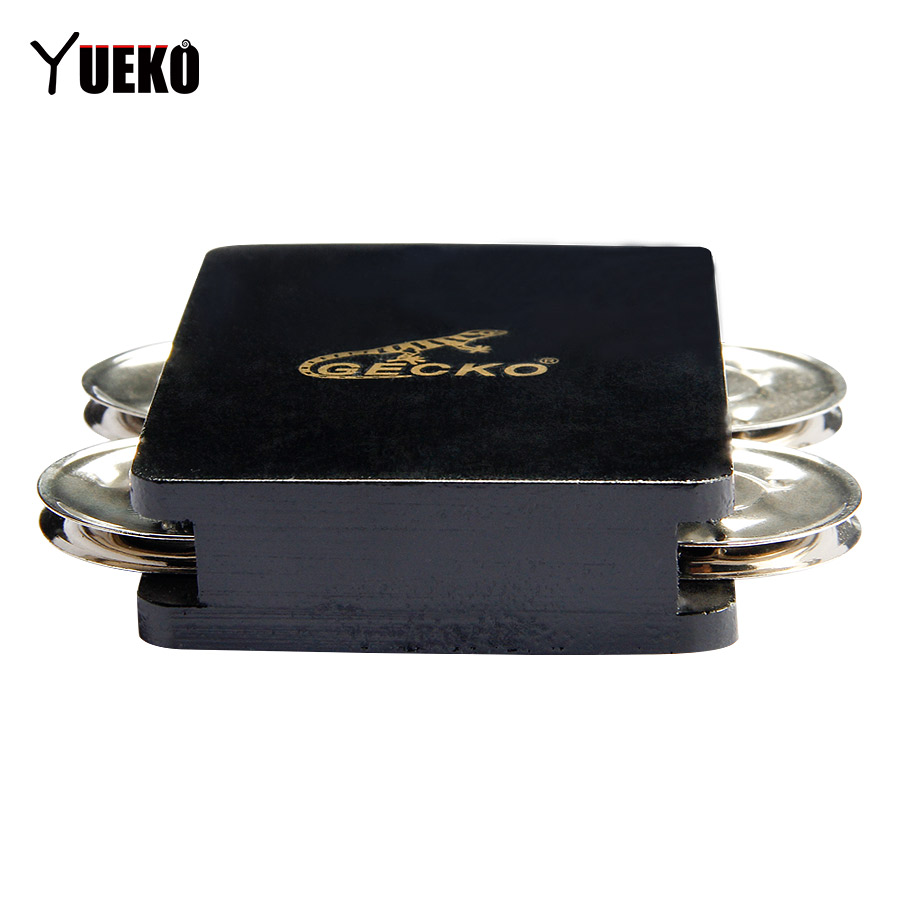buy gecko black thailand rubber wood timber cajon 4 bell castanet box drum. Black Bedroom Furniture Sets. Home Design Ideas