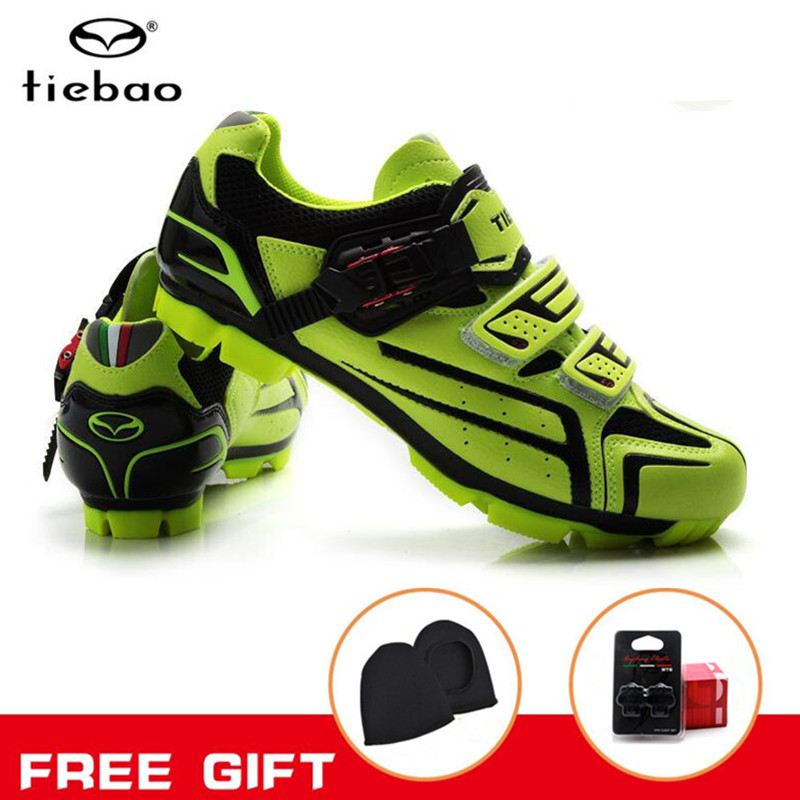 TIEBAO Cycling Shoes New Men Bicycle Mountain Bike Shoes Non-slip Self-locking Mirror Superfiber mtb Shoes Sapatos de ciclismoTIEBAO Cycling Shoes New Men Bicycle Mountain Bike Shoes Non-slip Self-locking Mirror Superfiber mtb Shoes Sapatos de ciclismo