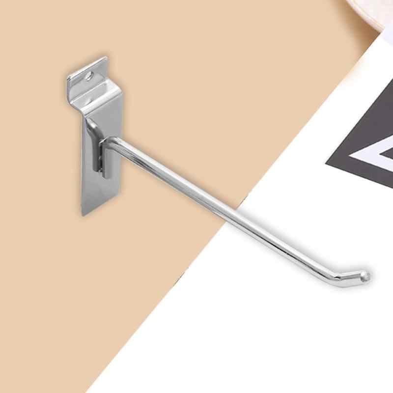 1 шт. новый металл Chrome крючок для посуды дверная вешалка для одежды кухня супермаркет ванная комната держатель стойки костюмы полотенца Держатель крючки инструмент