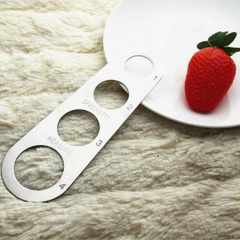 100 pcs/lot Stainless Steel Pasta Spaghetti Measurer Measure Tool Kitchen Gadget Portion Control Noodles Measurer