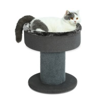 Cat Tree for Large Cats Grey Big Breed Trees Scratch Post Towers Furniture Scratcher Activit Toy Cat Tree Condo Tower