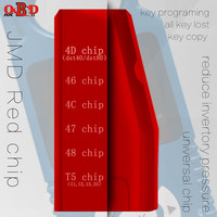HKOBDII 10pcs/lot Original Handy Baby Multifunction JMD Red Chip For CBAY JMD46/48/4C/4D/G/King Chip Key Programing All Key Lost