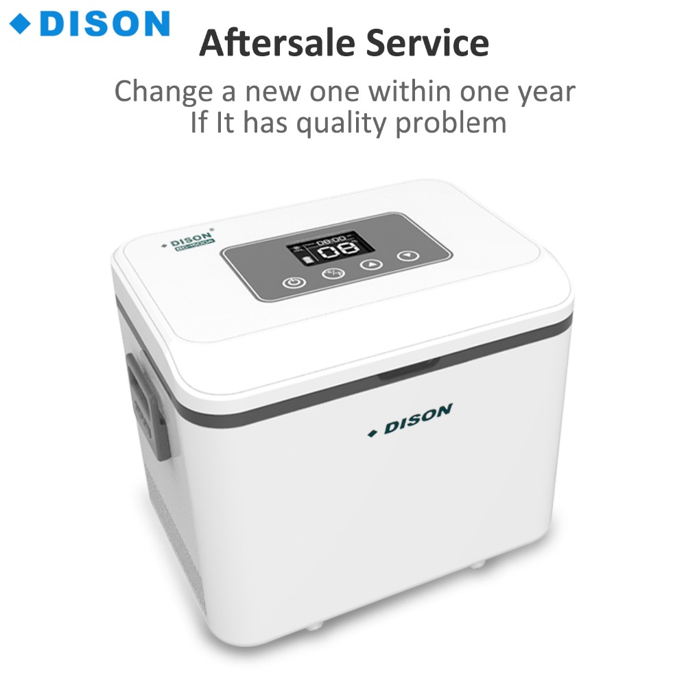 Dison Portable Mini Fridge Insulin Cooler Diabetes Travel Fridge Battery Operated Refrigerator Insulin Cooler Box dison hot sale display refrigerators small medication refrigerators box vaccine transport cooler cup mini fridge insulin