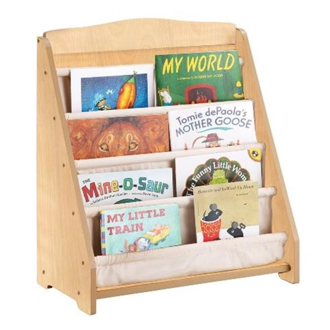 Guidecraft G87202 Expressions Book Display: Natural guidecraft expressions trophy rack natural