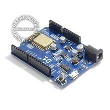 Free Shipping Smart Electronics ESP-12E D1 WiFi uno based ESP8266 shield for arduino Compatible 5pcs/lot diy