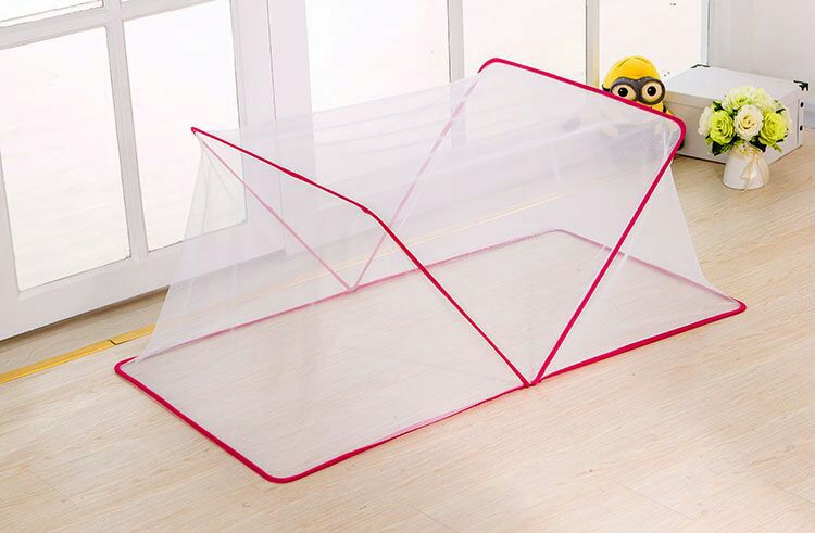 Free Shipping Summer Infant Toddler Child Baby Mosquito Luxury Bed Net Yurt Folding Easy Carrying Crib Netting 0 3 Years