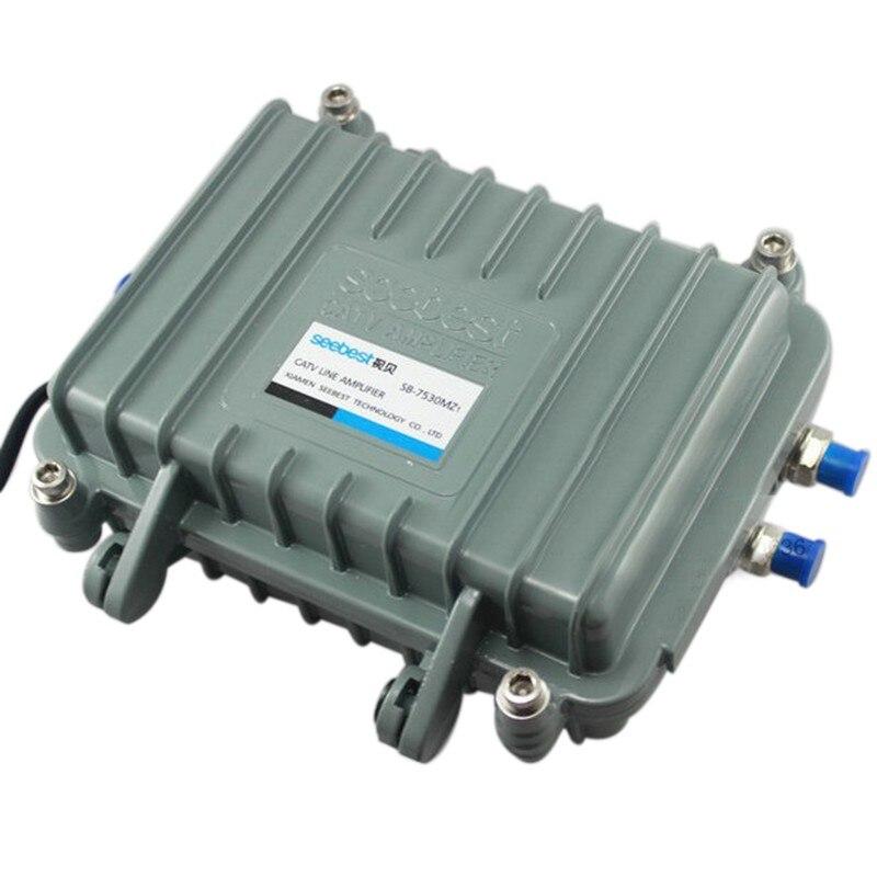 TZT Seebest SB-7530MZ1 Outdoor Amplifier CATV Trunk Signal Amplifier Satellite TV Receiver Signal Amp