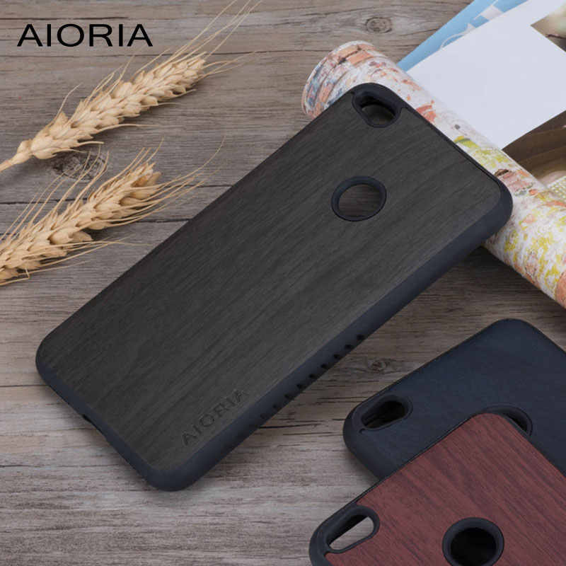 Wooden design case for Huawei P9 Lite 2017 P8 lite 2017 soft TPU material&wood PU leather skin covers coque fundas Honor 8 Lite