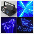 Gratis Verzending Patronen Laser Projector Blauw Led Gobo Remote DJ Disco Stage Light