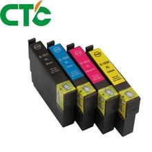 4PCS 16XL T1631 1632 ink cartridge for INK WorkForce WF-2010W WF-2510WF WF-2520NF WF-2530DW WF-2540WF WF-2750DWF 2760DWF