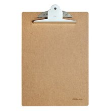 Deli 9224 A4 Wood Clipboard Portable Writing Board Clip Office School Meeting Accessories With Metal