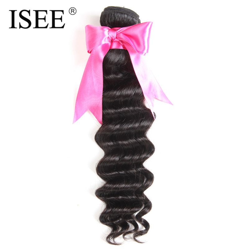 ISEE Remy font b Hair b font Extension Brazilian font b Hair b font Loose Wave