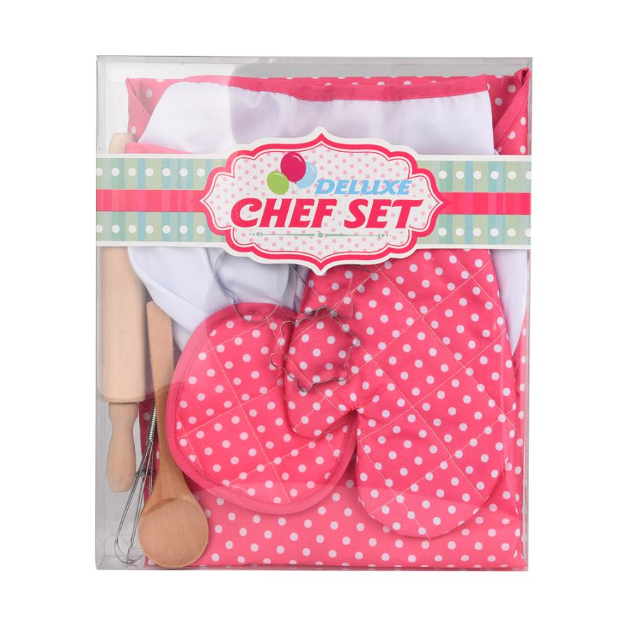 HIINST-Kids-Cooking-And-Baking-Set-11pcs-Kitchen-Costume-Role-Play-Kits-Apron-Hat-funny-toy