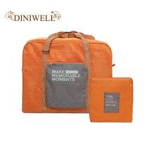 Fashion Travel Luggage Bag Big Capacity Folding Carry-on Duf