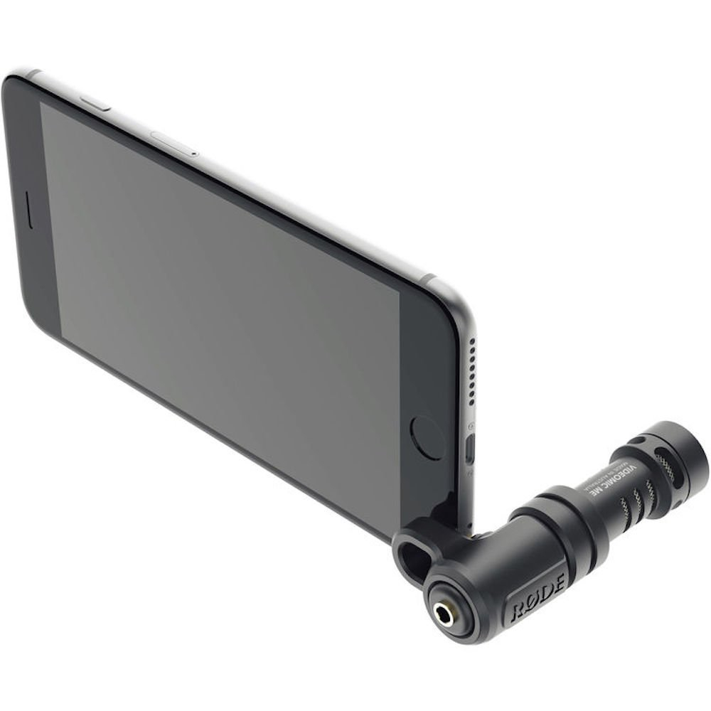 YIXIANG VideoMic Rode Me Compact Mini Microphone Directionnel pour iPhone 6 s 6 plus smartphone Enregistreur Mic