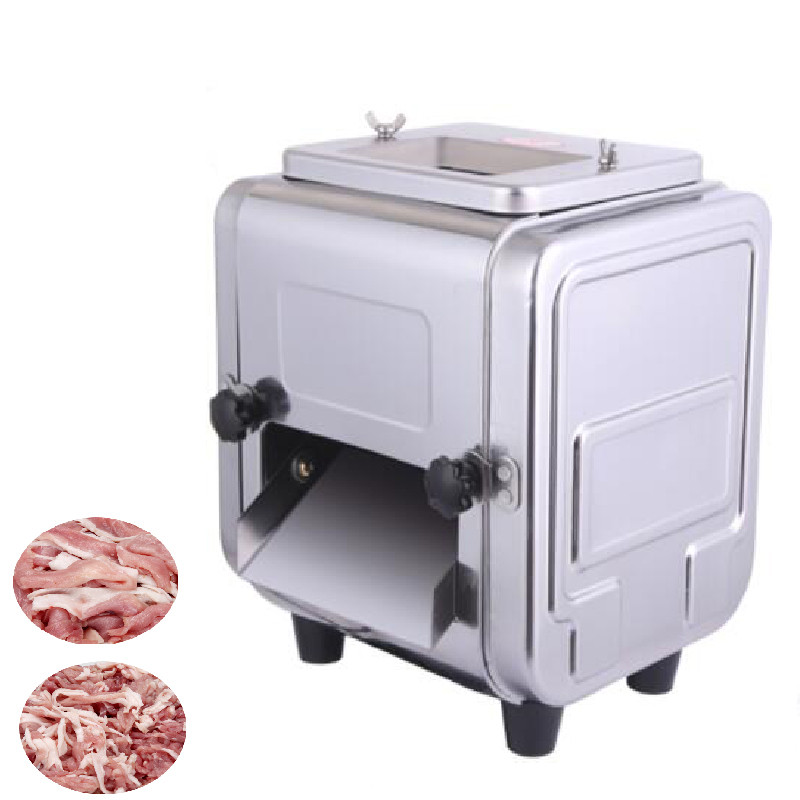 BEIJAMEI Automatic Electric Meat Cutter Machine Meat Slicer Commercial Meat Grinder Slicer Meat Cutting Slicing Machine commercial meat cutting machine 600w electric meat slicer stainless steel meat cutter bl70