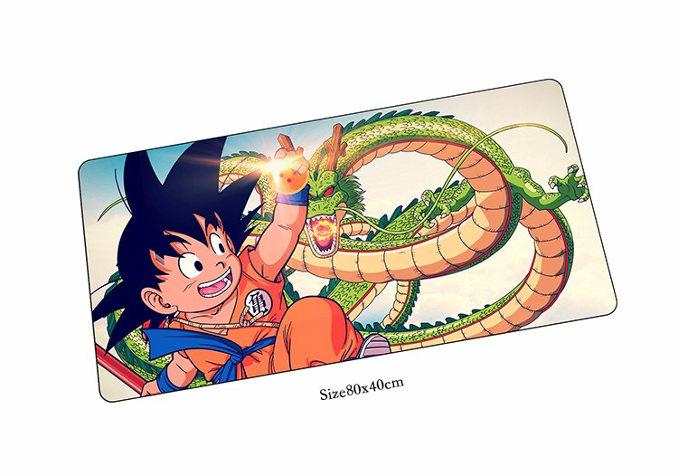 Dragon Ball Z mouse pad HD print pad to mouse notbook computer mousepad 80x40 gaming padmouse gamer to laptop 80x40cm mouse mat