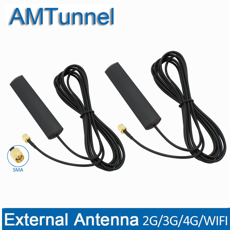 SMA 4G Antenna WiFi Antenna 3M cable 3G antenna 3dBi 3G 4G font b router b