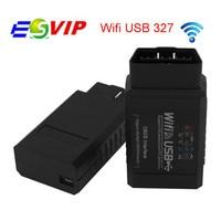 20 stks/Diagnostic Tool ELM327 Wifi USB Auto Code Scanner Ondersteunt Android IOS PC beste prijs